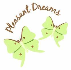 Pleasant Dreams embroidery design