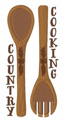 Country Cooking embroidery design