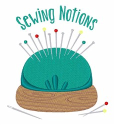 Sewing Notions embroidery design