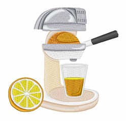 Orange Juicer  embroidery design