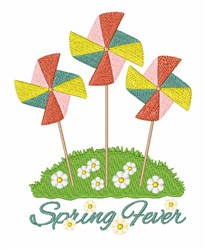 Spring Fever embroidery design