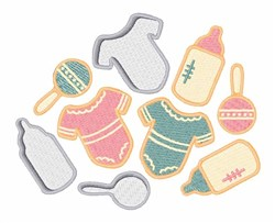 Baby Clothes embroidery design