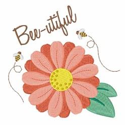 Bee-utiful embroidery design