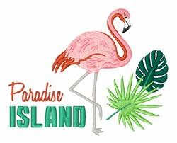 Paradise Island embroidery design