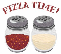 Pizza Time embroidery design