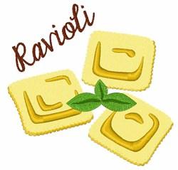 Ravioli embroidery design