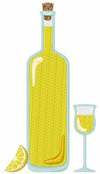 Limoncello embroidery design