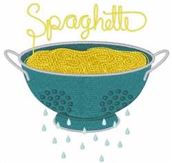 Spaghetti embroidery design