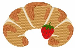 Croissant embroidery design