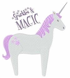 Sparkles & Magic embroidery design