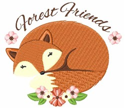 Forest Friends embroidery design