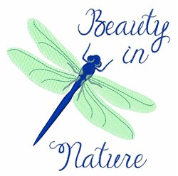 Beauty In Nature embroidery design