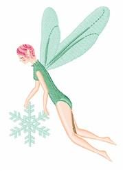 Winter Fairy embroidery design