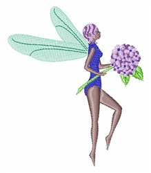 Spring Fairy embroidery design