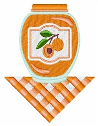 Apricot Jam embroidery design