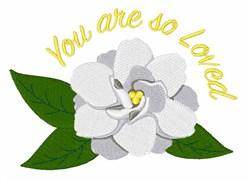 Gardenia Love embroidery design