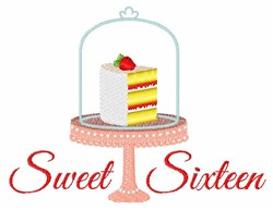 Sweet Sixteen embroidery design