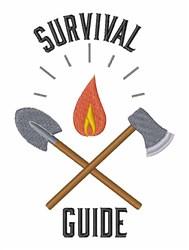 Survival Guide embroidery design