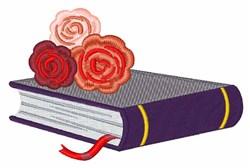Romance Novel embroidery design