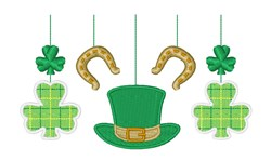 St. Patricks Mobile embroidery design
