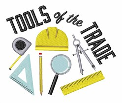 Tools Of Trade embroidery design