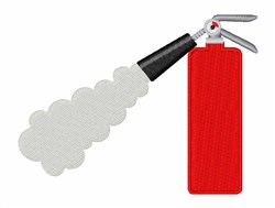 Fire Extinguisher embroidery design