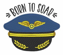 Born To Soar embroidery design