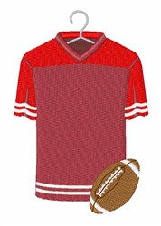 Football Jersey embroidery design
