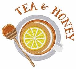 Tea & Honey embroidery design