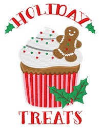 Holiday Treats embroidery design