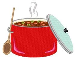Chili Pot embroidery design