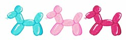 Balloon Animals embroidery design