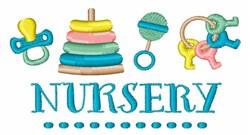 Baby Nursery embroidery design