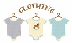 Baby Clothing embroidery design