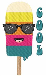 Cool Popsicle embroidery design