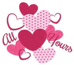 All Yours embroidery design