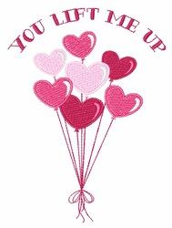 Lift Me Up embroidery design