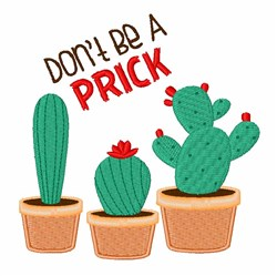 A Prick embroidery design