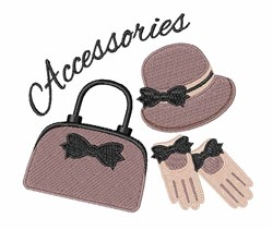 Accessories embroidery design