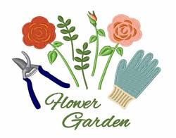 Flower Garden embroidery design