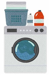 Washing Machine embroidery design