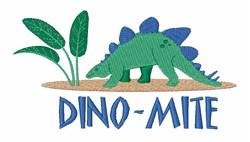 Dino-mite embroidery design
