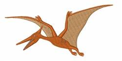Pterodactyl Dinosaur embroidery design