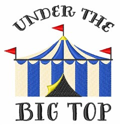 The Big Top embroidery design