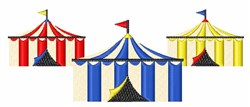 Circus Tents embroidery design