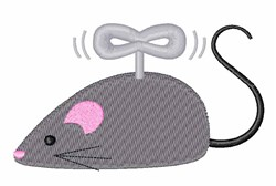 Cat Mouse Toy embroidery design