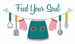 Feed Soul embroidery design