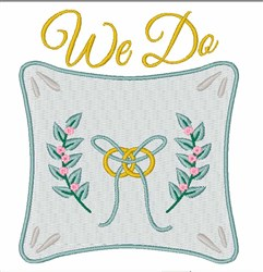 We Do embroidery design