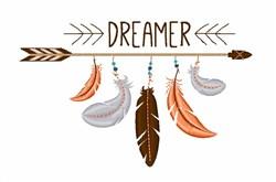 Dreamer embroidery design