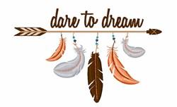 Dream Arrow embroidery design